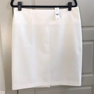Winter white Pencil Skirt